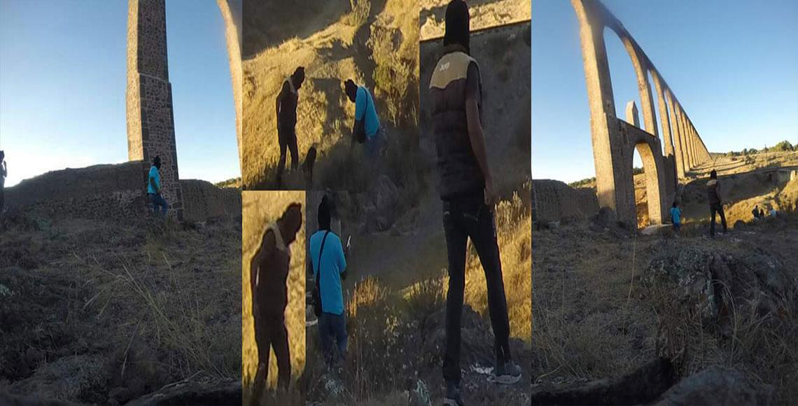 Denuncian ola de asaltos en acueducto del padre Tembleque - Quadratín Hidalgo (Registro)