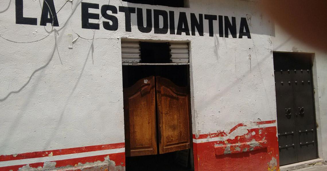 Resultado de imagen para La Estudiantina cantina pachuca
