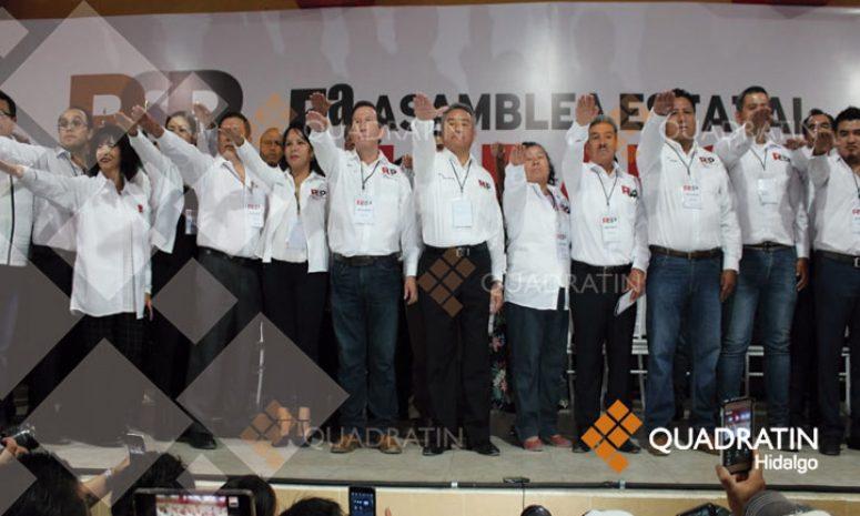 Sin Elba Esther, Redes Progresistas celebran asamblea en Hidalgo