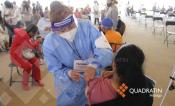 Aplicarán segunda dosis de vacuna anticovid en Pachuca próxima semana